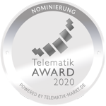 Cares.Watch wurde nominiert für den Telematik-Award 2020