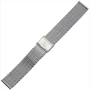 Armband Edelstahl silber für Cares.Watch Classic