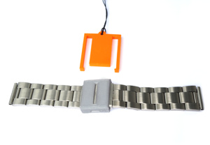 Edelstahl-Armband mit Spezial-Verschluss