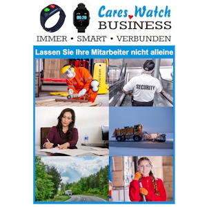Cares.Watch Business-Prospekt