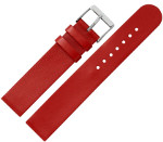 Armband Leder rot für Cares.Watch Profi